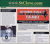 Jethro Tull's Ian Anderson Thick as a brick