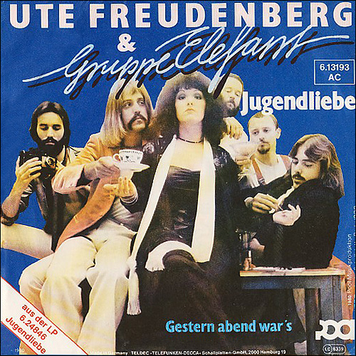 Ute freudenberg jugendliebe single