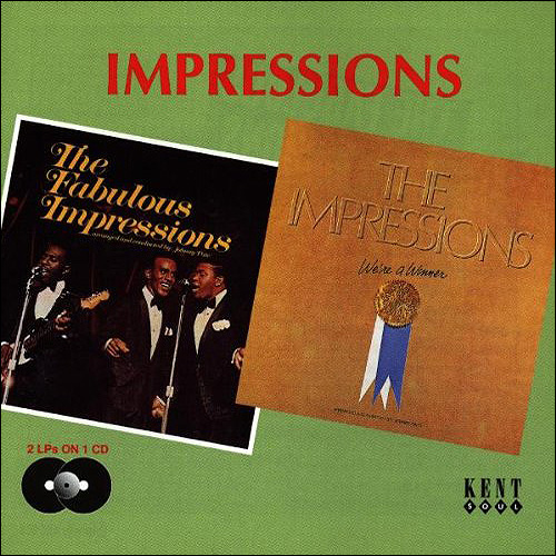 The Impressions We're a winner